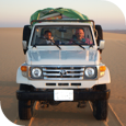 Khalifa Expeditions - Cars for camps