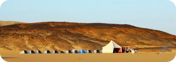 Khalifa Expedition - Our camps with 2-person tents